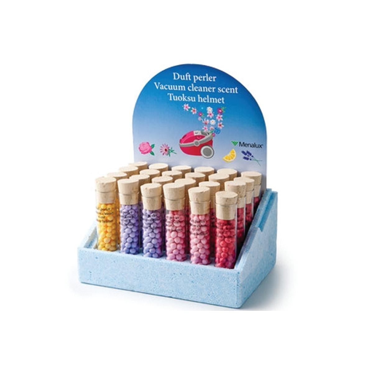 Støvsugerdeodorant 24 rør 4 forskellige dufte