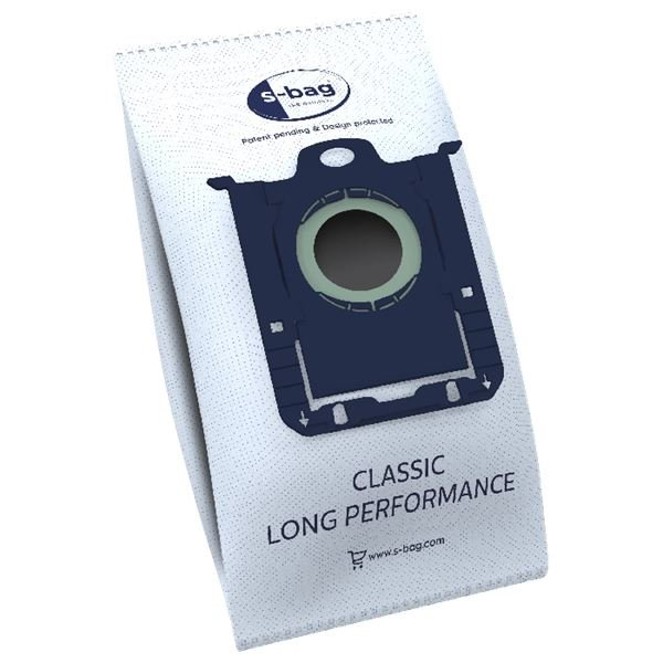 E201SM s-bag Long Performance dammsugarpåsar 12 st