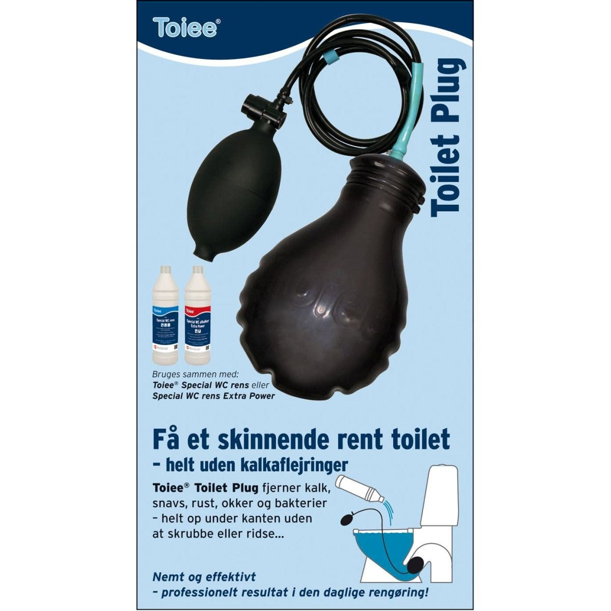 Toilet afkalker prop - Toiee Toilet Plug