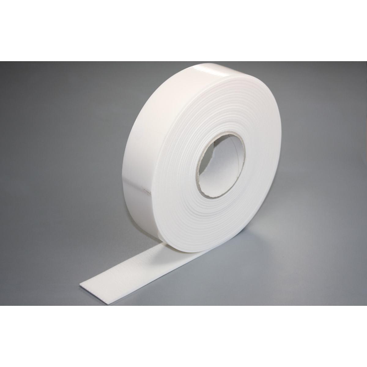 Isoleret anti-kondenstape hvid rulle á 10 meter