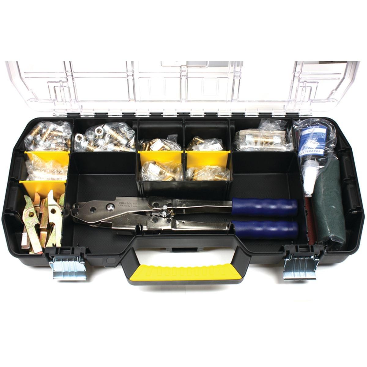 Lokring sortiment inkl. værktøj til varmepumper
