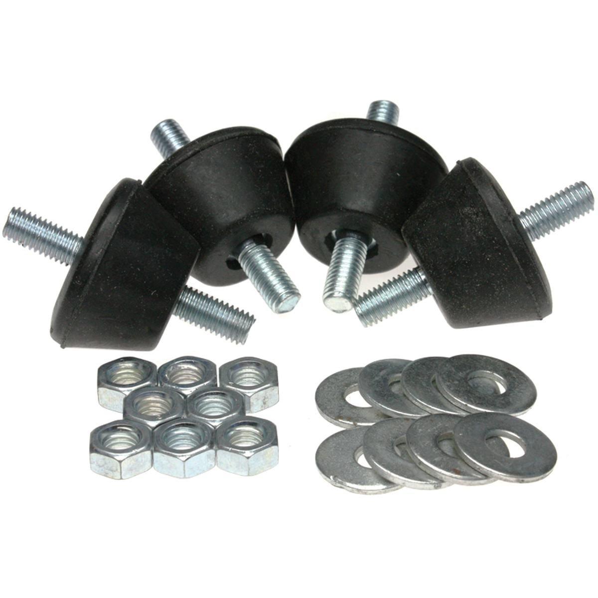 Vibrationsdämpare 4 st. 20-40 kg konisk