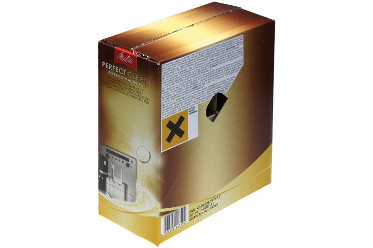Rengøringstabs Perfect Clean Espresso 10 x 4 stk.