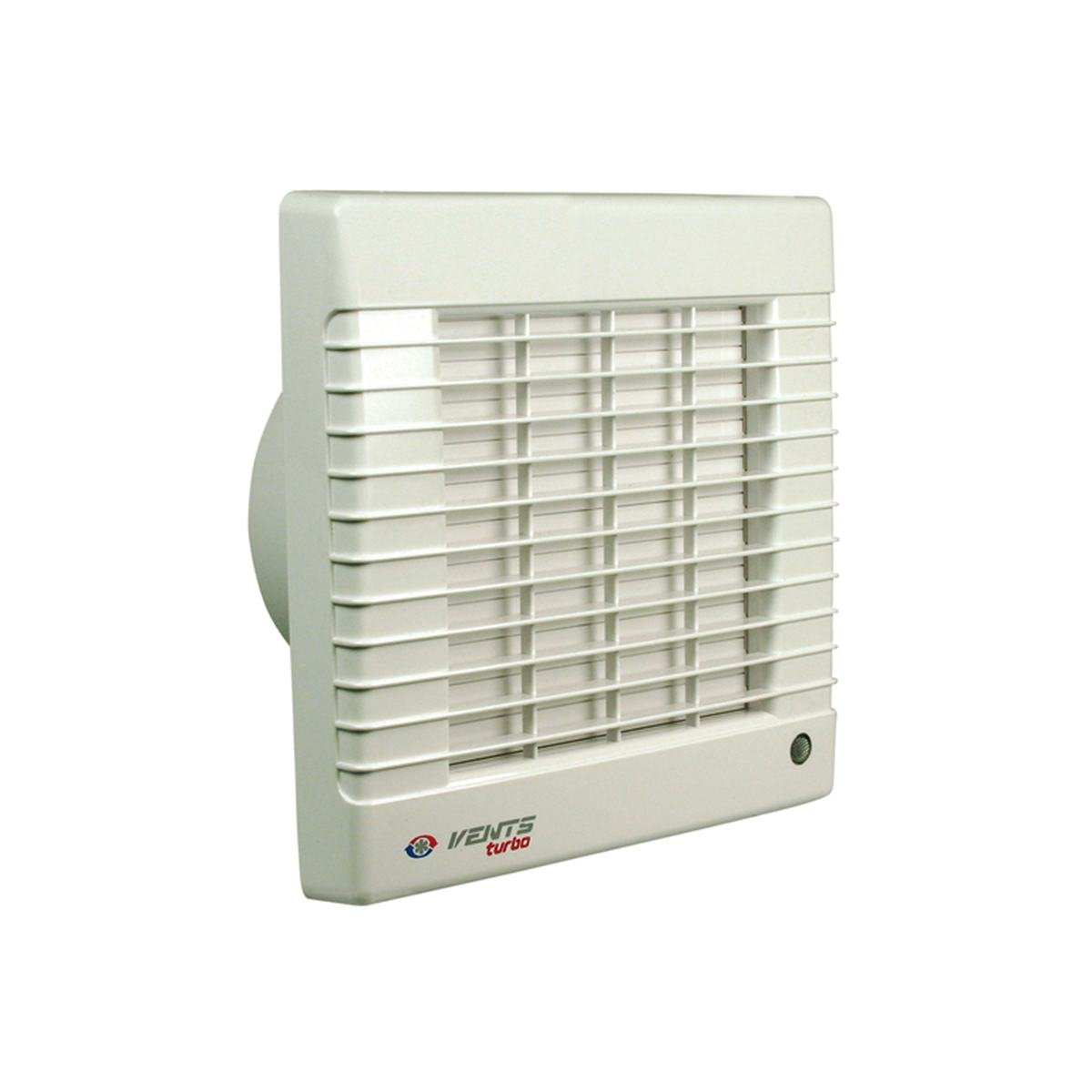 Ventilator med automatisk jalousilukke til Ø100 mm