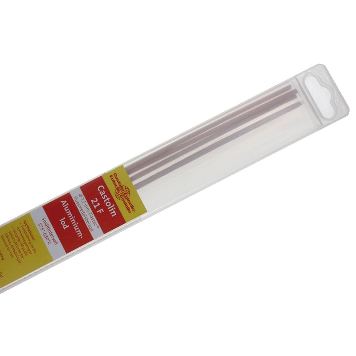 Alulod 2,5 mm. flussbelagt - 4 stave