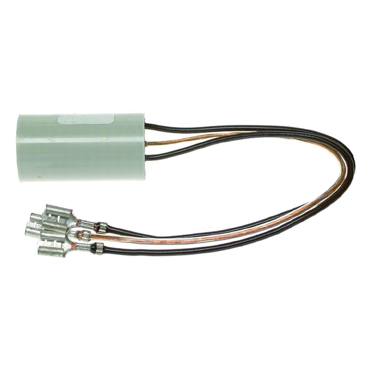 Støjkondensator 0,1µF+2x0,025µF+2x2,2 MOhm