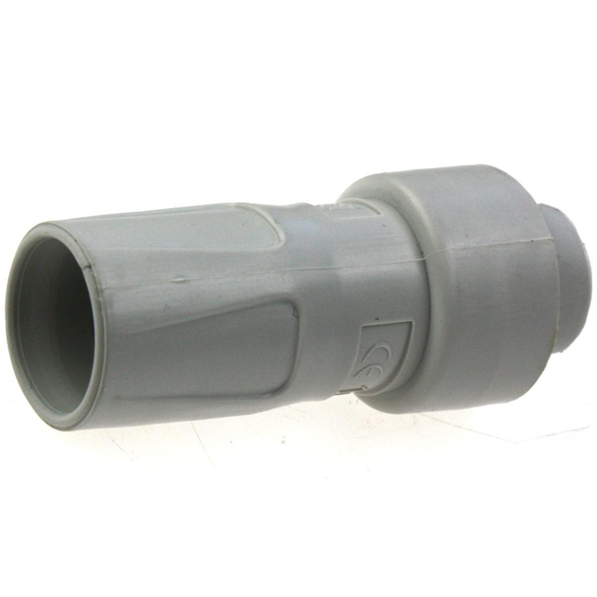 Samlestykke fra 16 mm drænslange til 16 mm drænrør