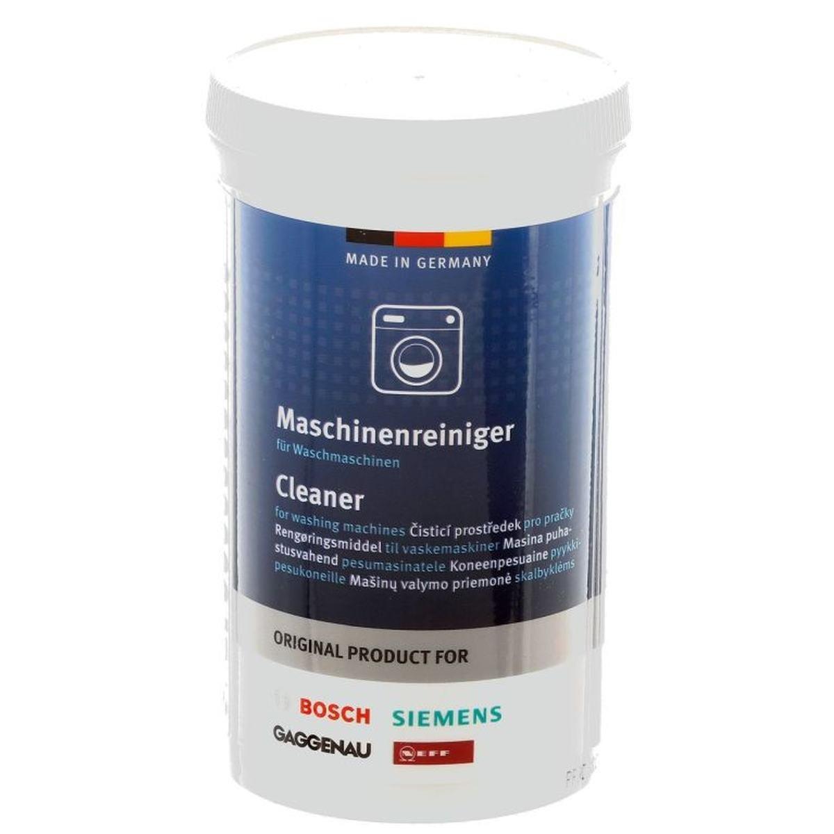 Maskinrens til vaskemaskiner - Bosch Siemens