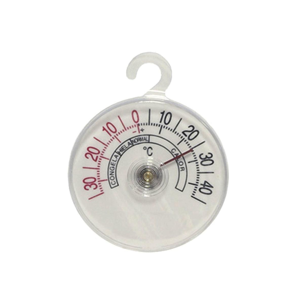Termometer til køl frys rund model