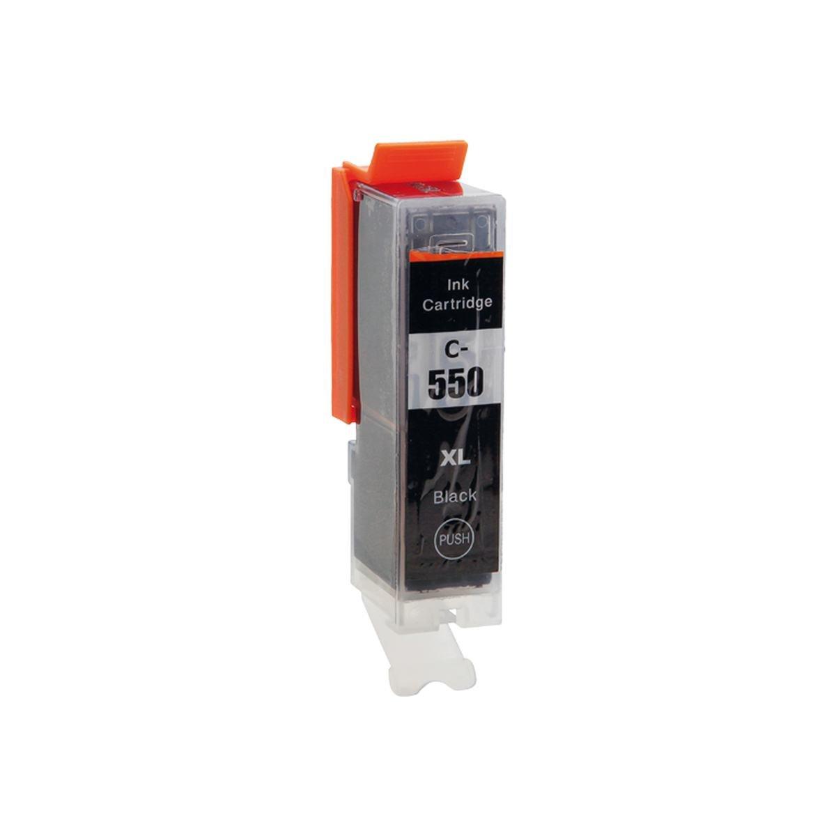 Blækpatron CLI551 sort + chip 1 stk. 22 ml