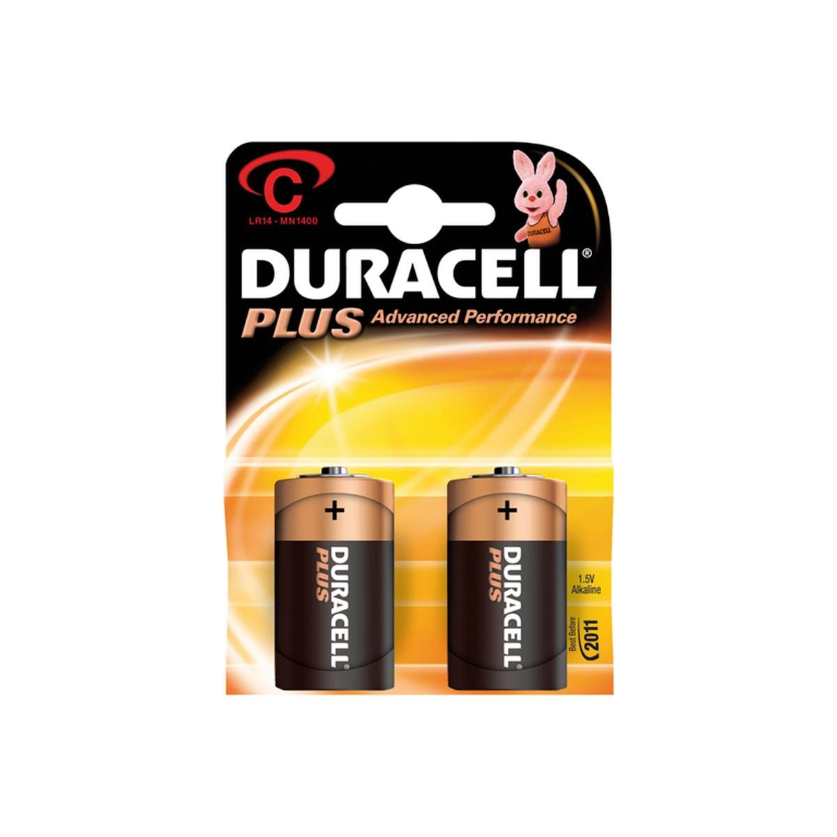 Batteri 1,5V Plus LR14 / C / Baby 2 st. pack - Dur