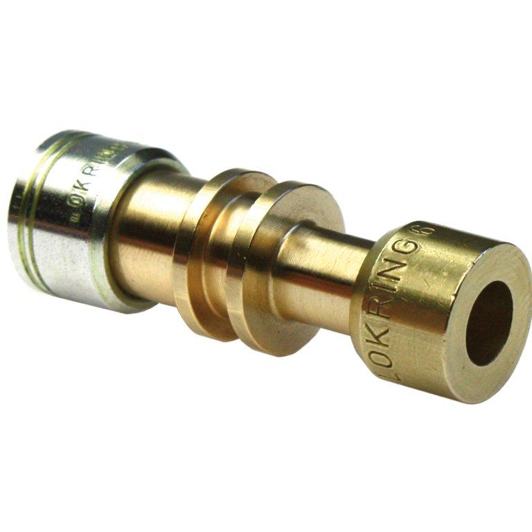 Lokring 12/10 NR Ms 50 - samler 12 og 10 mm rør