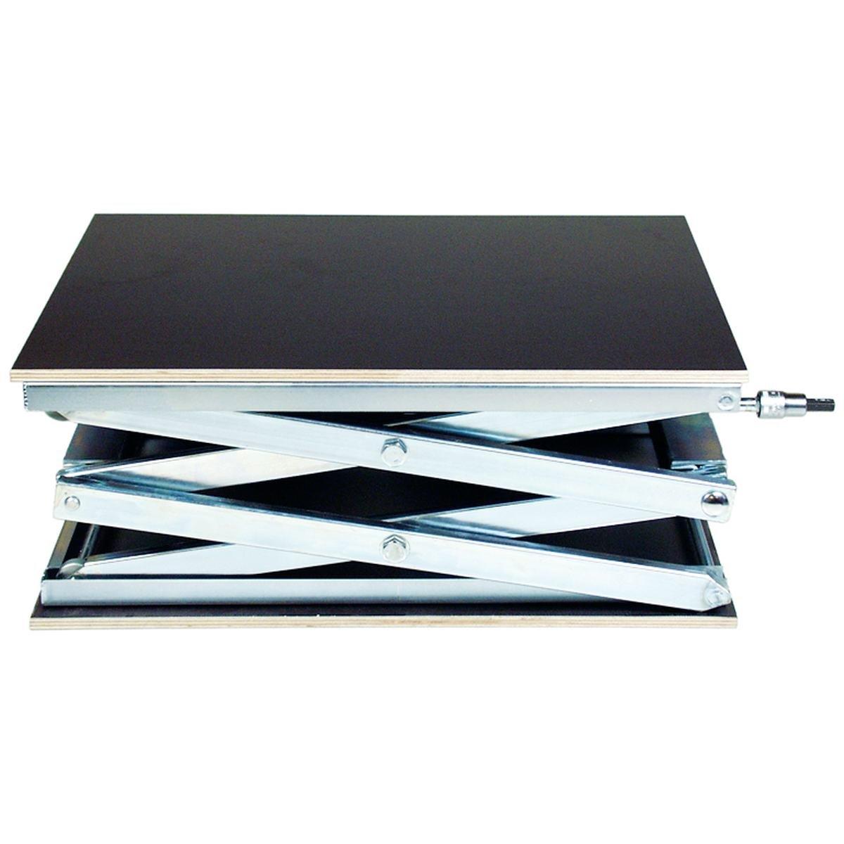 Hæve- sænkebord 405 x 520 mm. max. vægt 60 kg.
