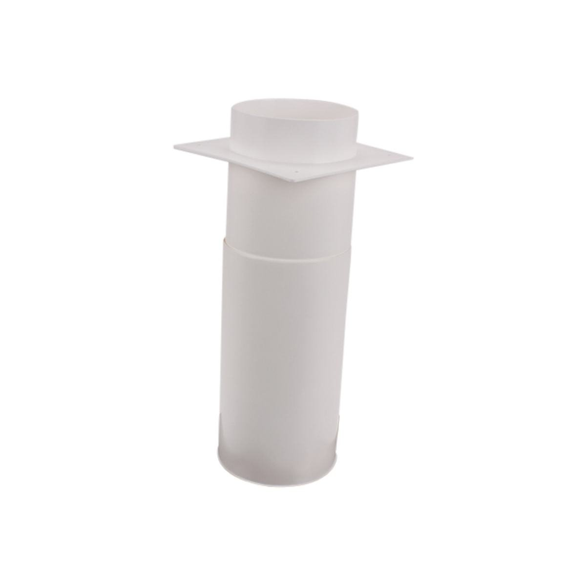 Murgennemføring med faste lameller Ø125 mm. rustfr