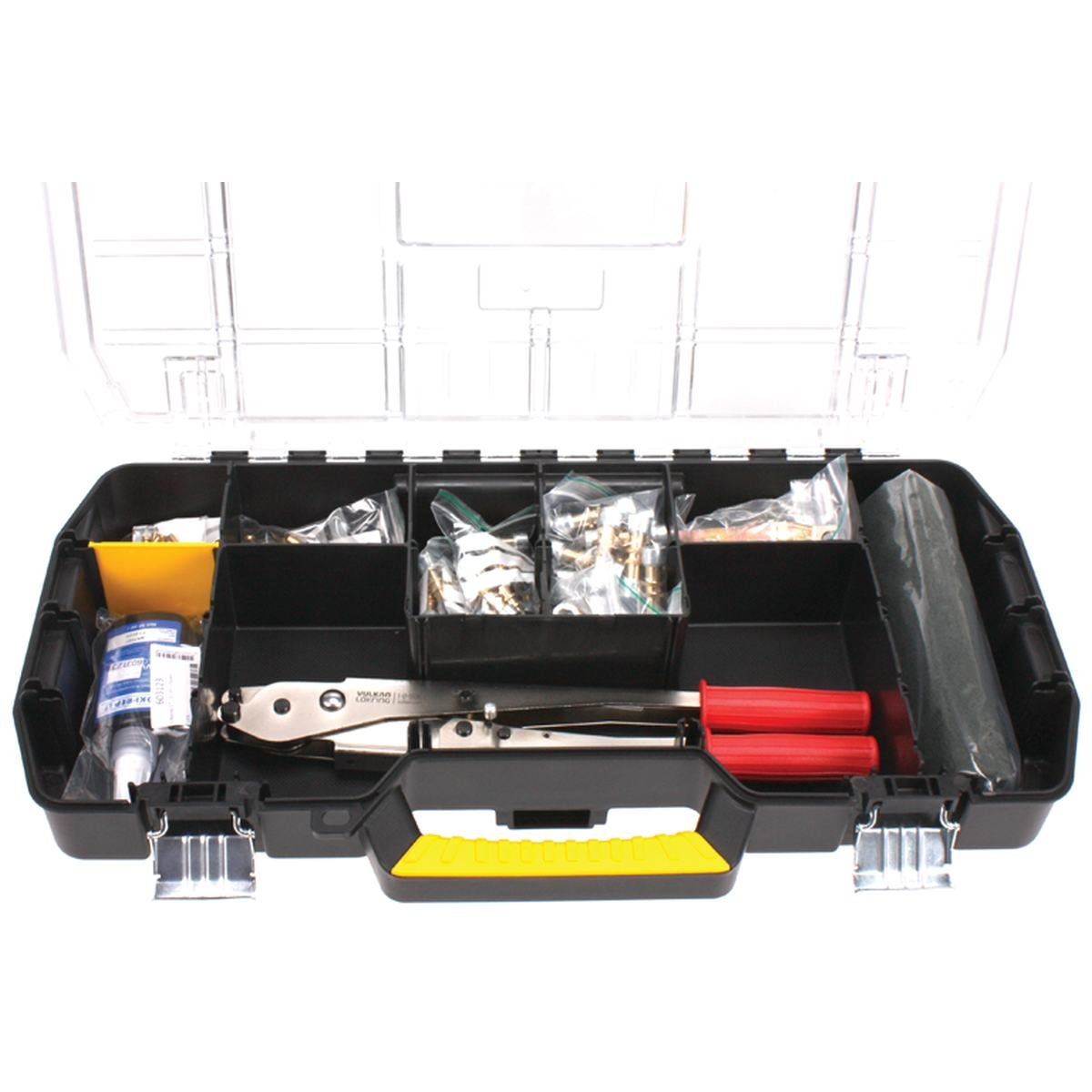 Lokring grundsortiment inkl værktøj t. varmepumper