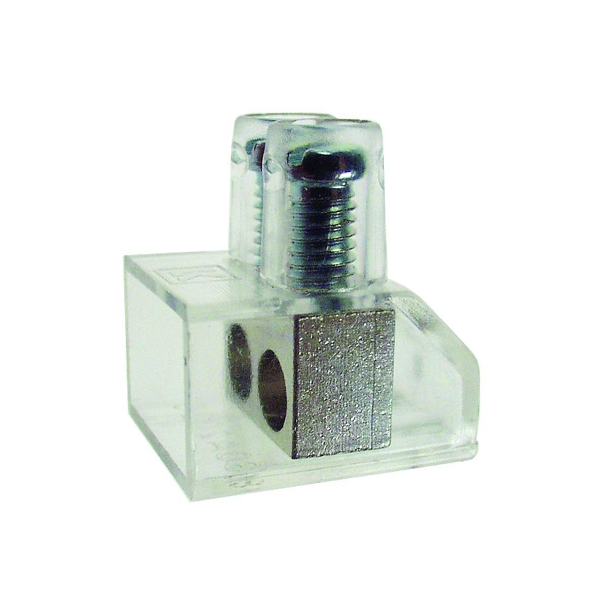 Samlemuffe dobbelt 2 x 10 mm² pose med 200 stk.