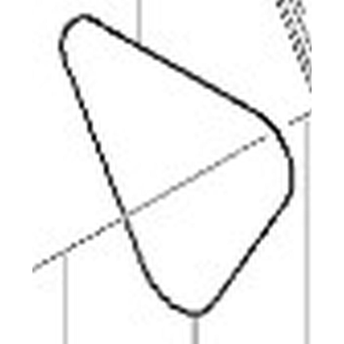 Trekantspakning til trykkammer