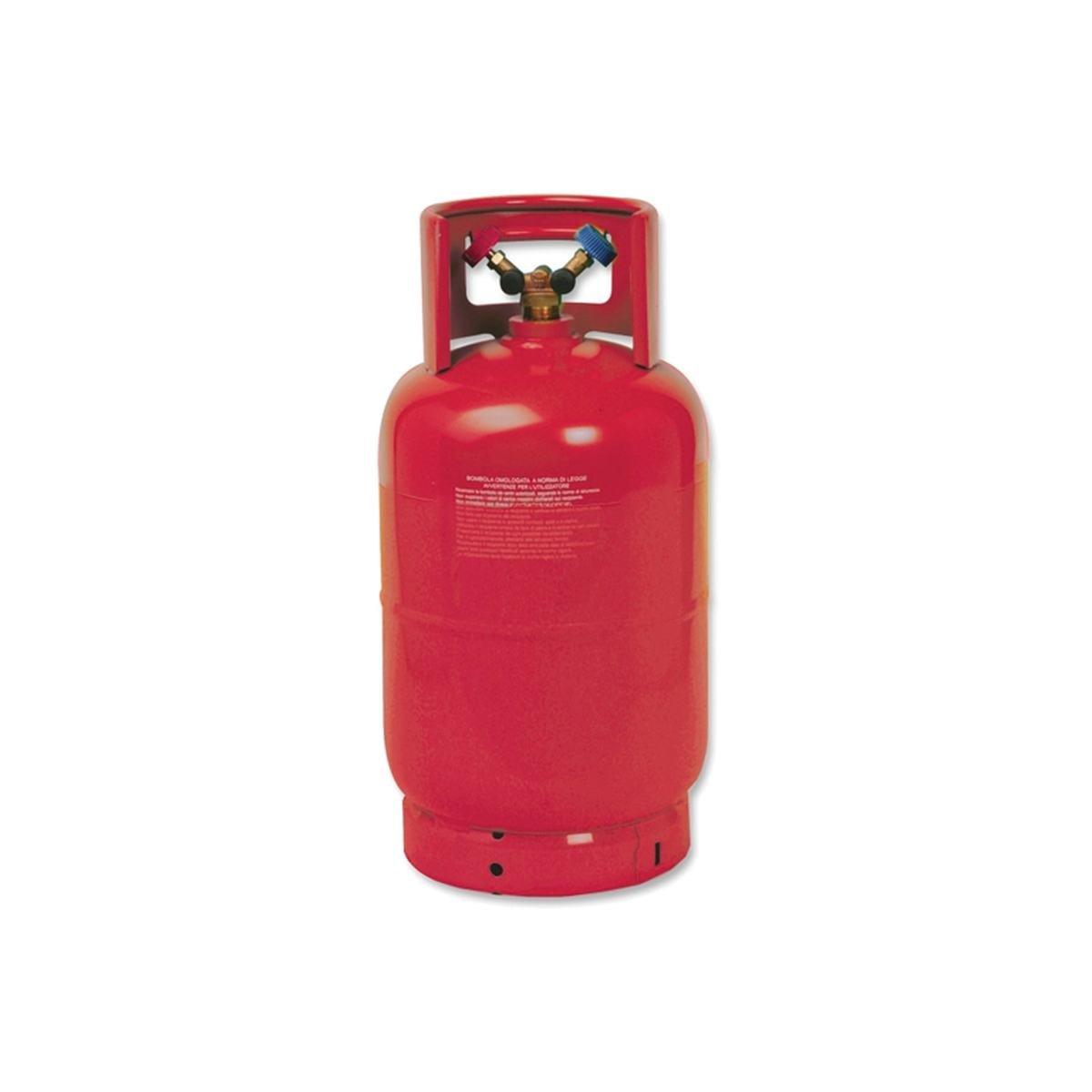 Flaska till R32 köldmedium tom 12,5 liter