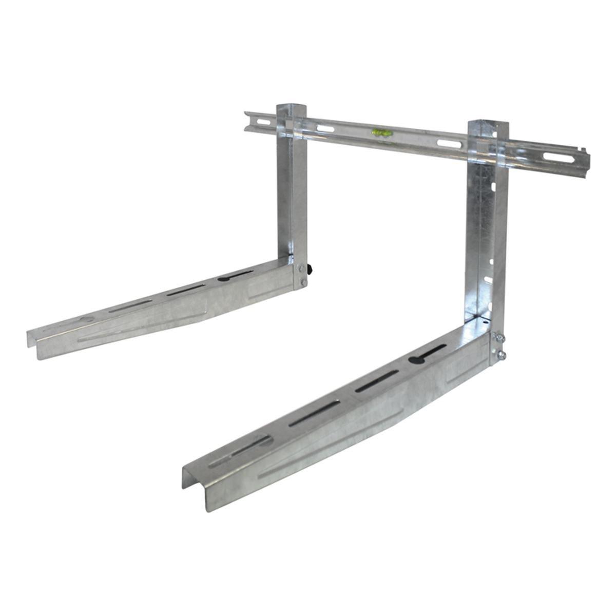 Montasjebeslag justerbar til vegg galvanisertt stå