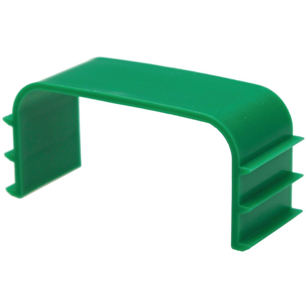 Kanalklämma invändig 80 x 60 mm låda med 25 st.