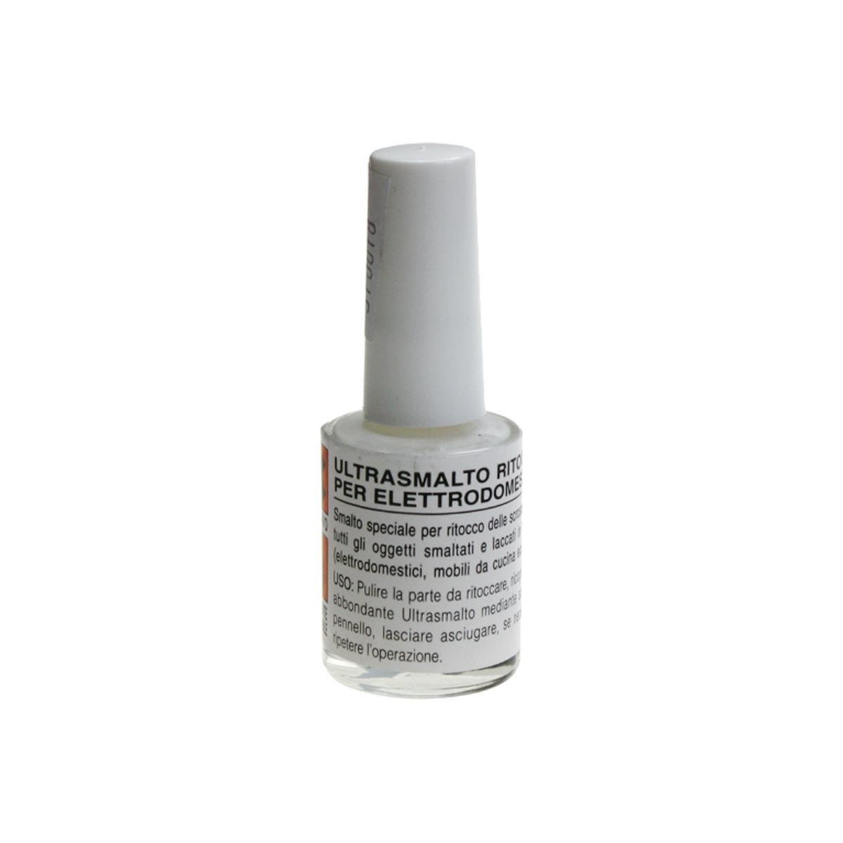 Emalje hvit 8 ml. i glass med pensel