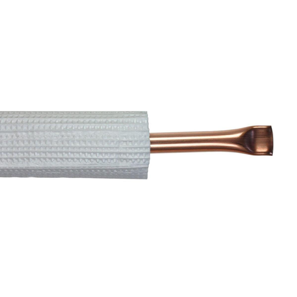 """Kobberrør isol. 3/8"""" x 0,8 mm 25 m"""