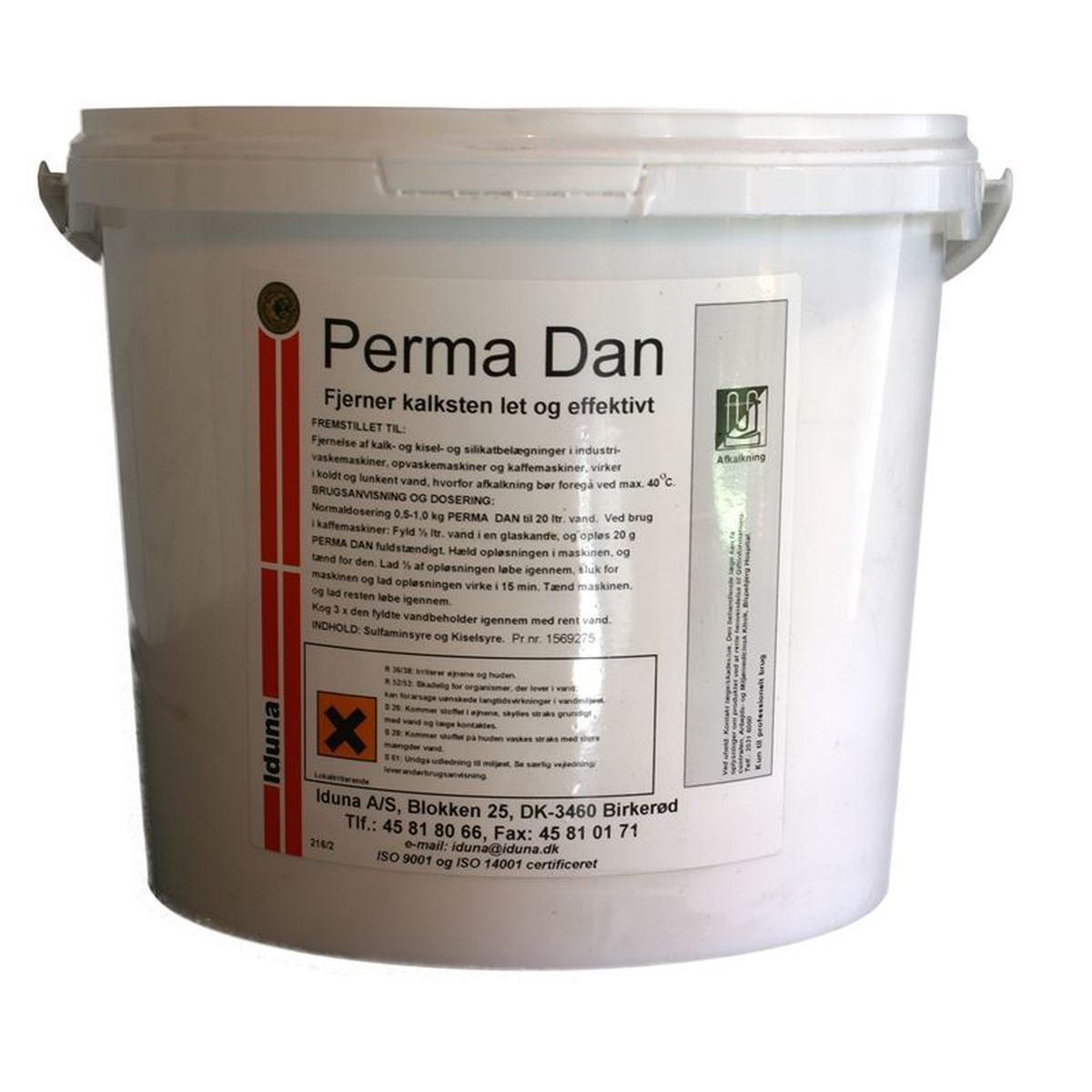 Perma Dan 5 kg avhärdare i hink