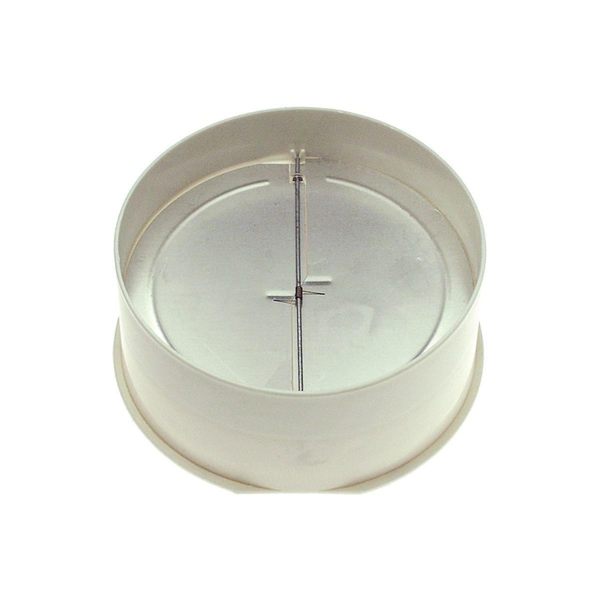 Flange med spjæld Ø150 mm.