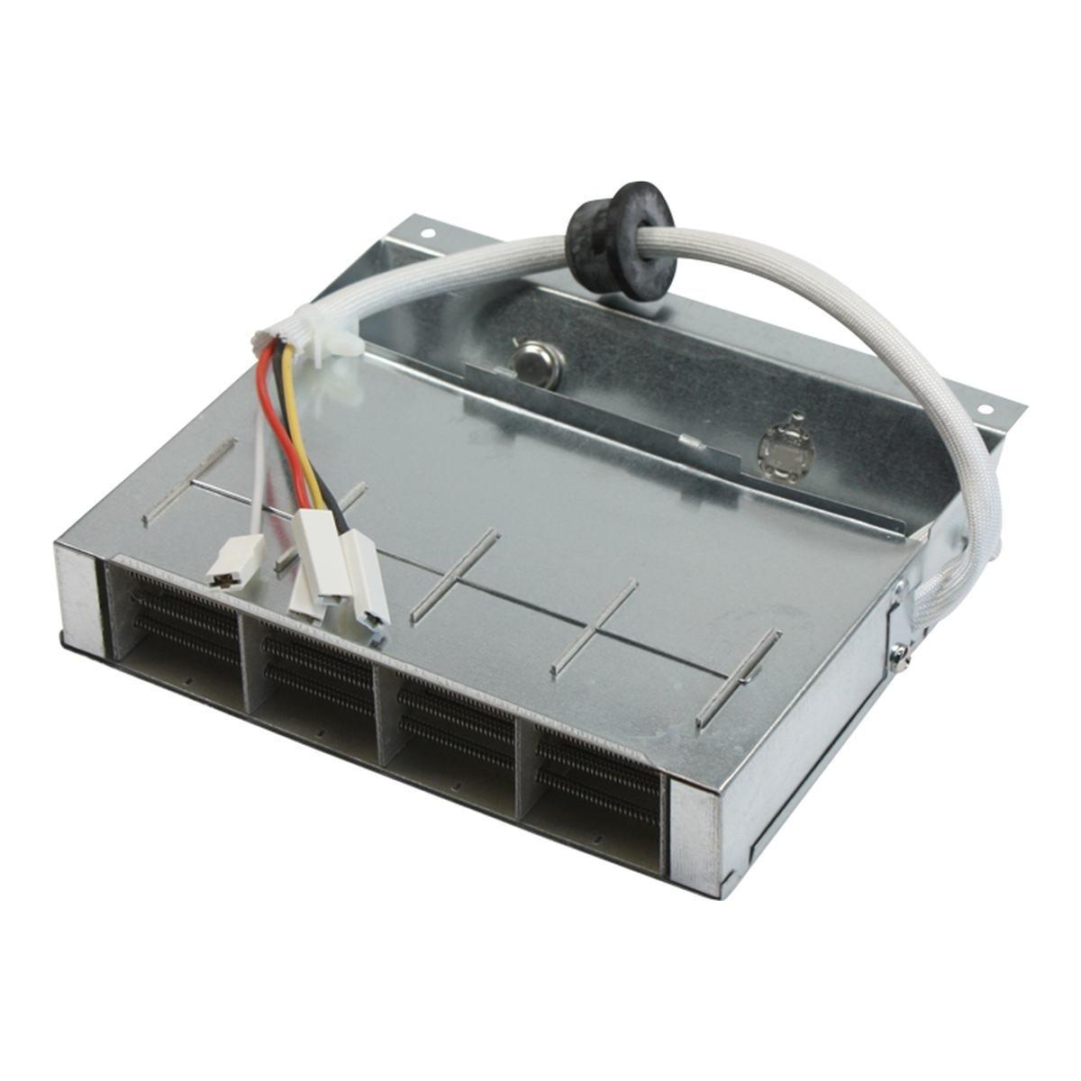 Varmelegeme 1050W + 1050W 230V m. 4 løse stik