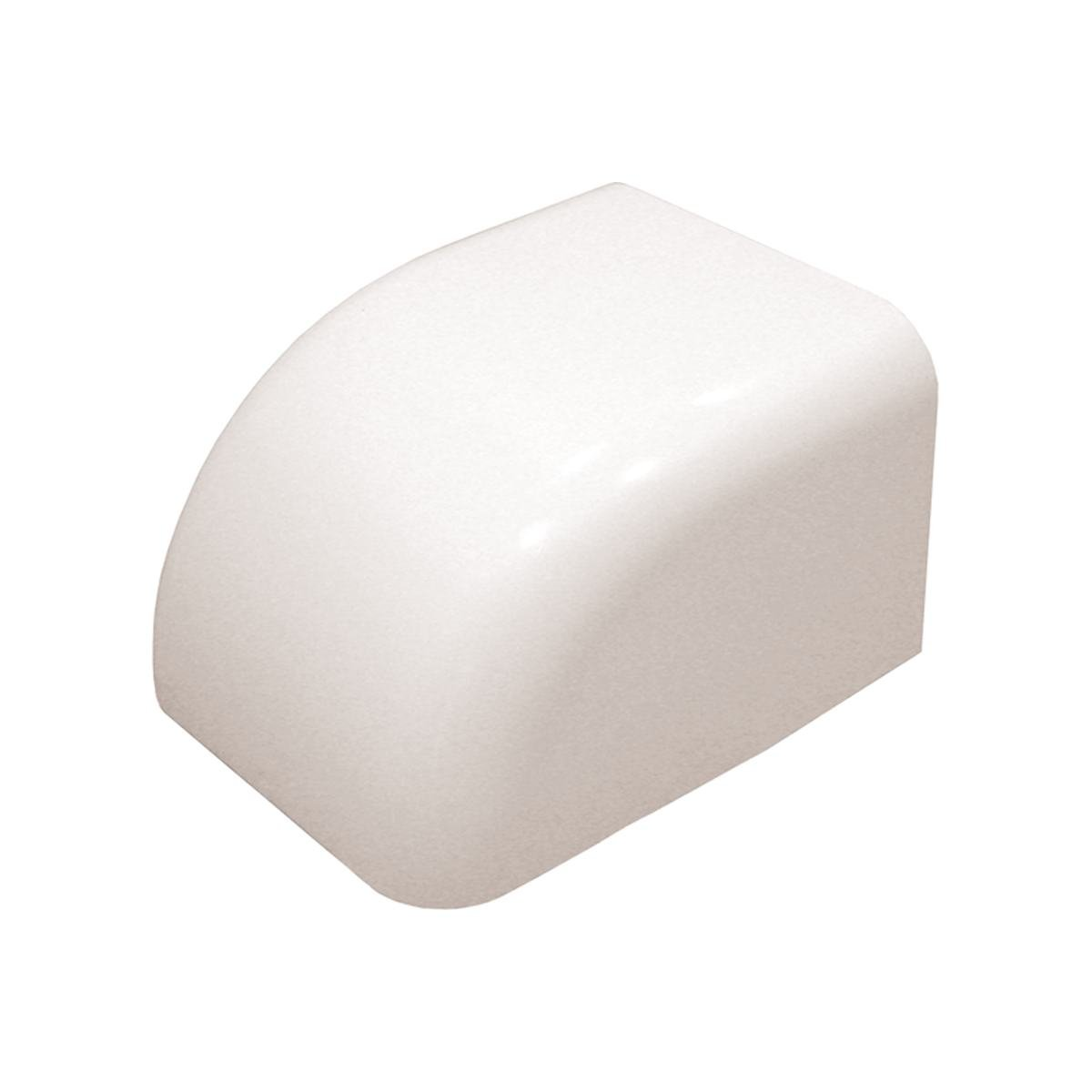 Gavellock utan kant 80 x 60 mm vit