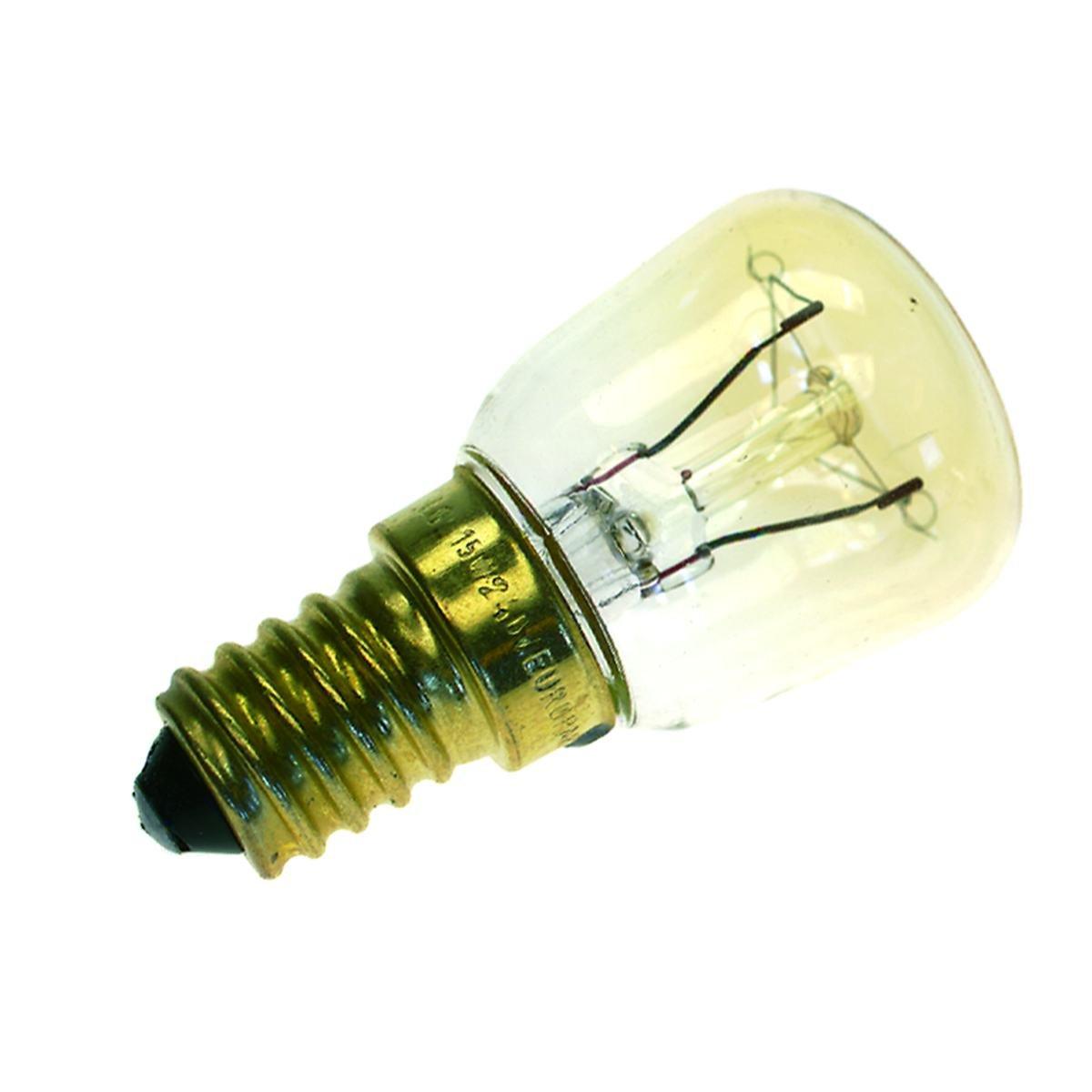 Ugnslampa t26 25w e14 230v klar