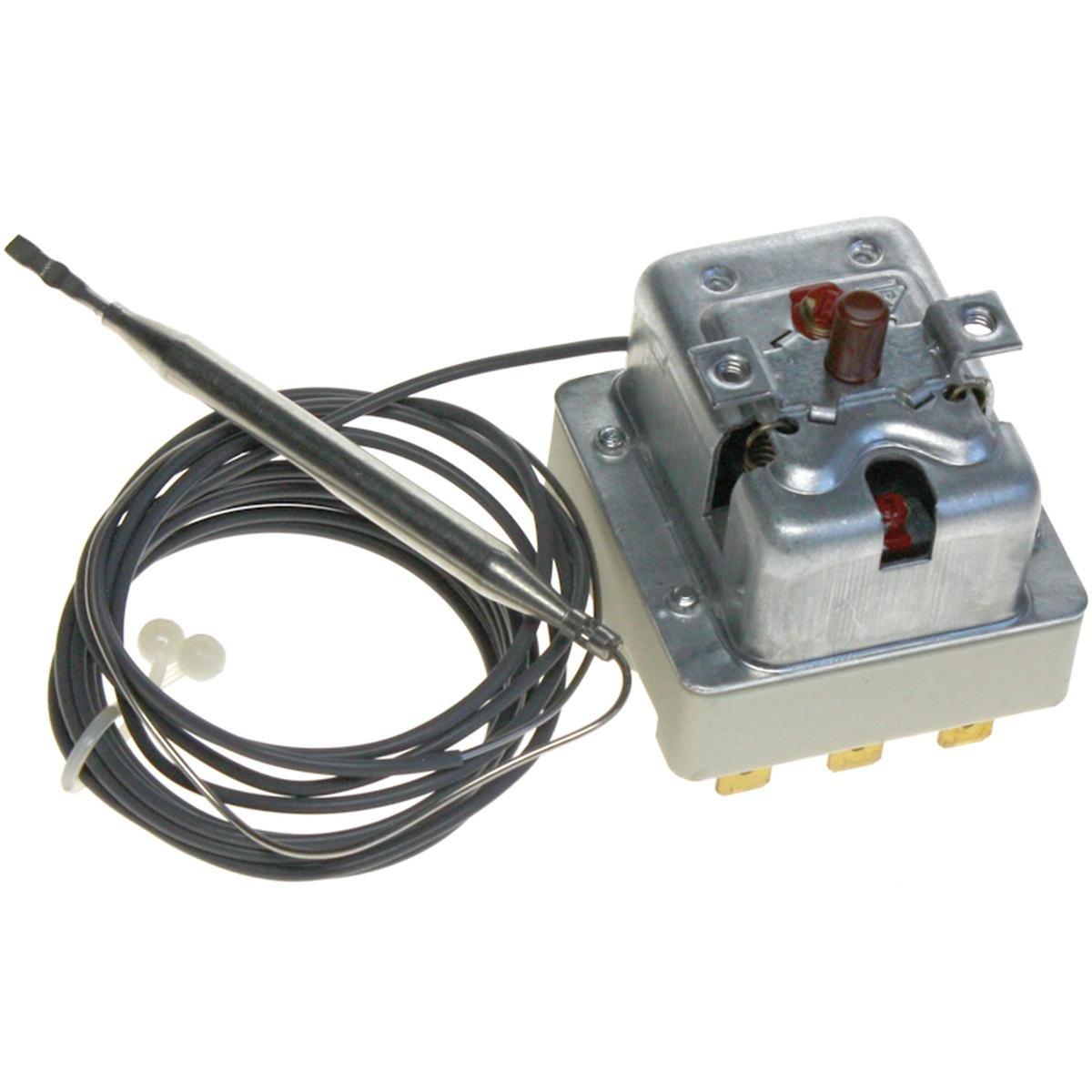 Säkerhetstermostat 240°C 400V 1600 mm. sensor till