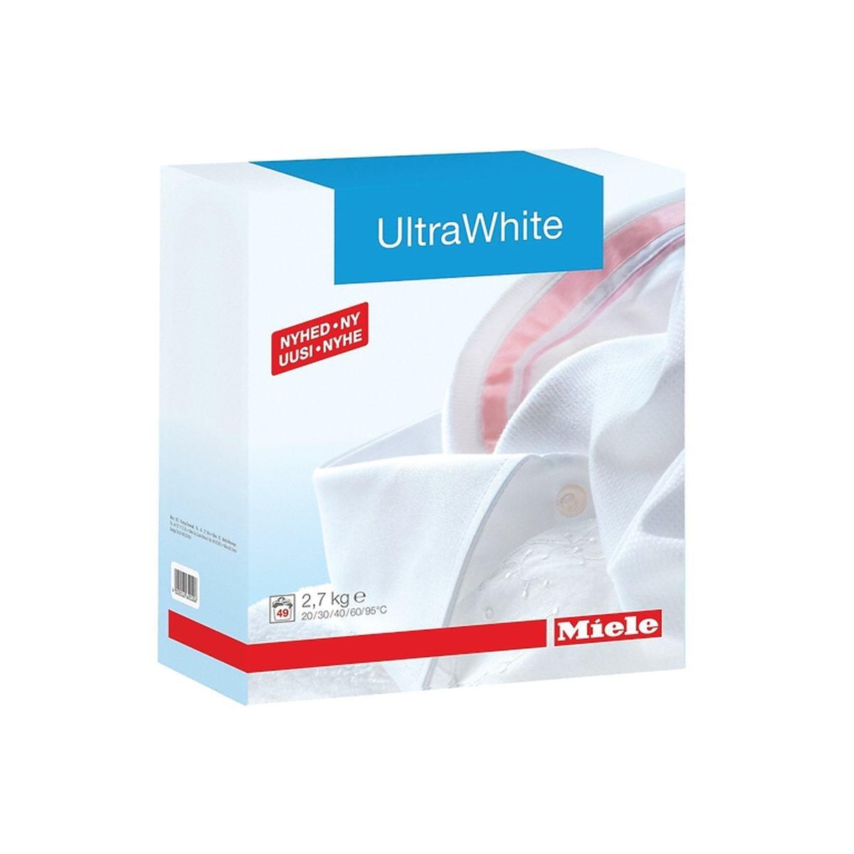UltraWhite tvättmedel 2,7 kg - Miele