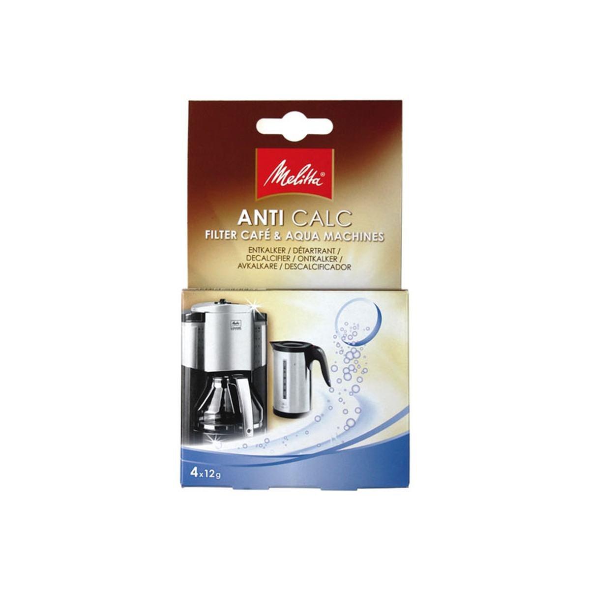Afkalkningstabs Anti Calc 4 stk t. filterkaffemask