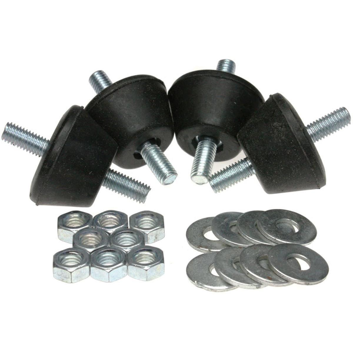 Vibrationsdämpare 4 st. 50-80 kg konisk
