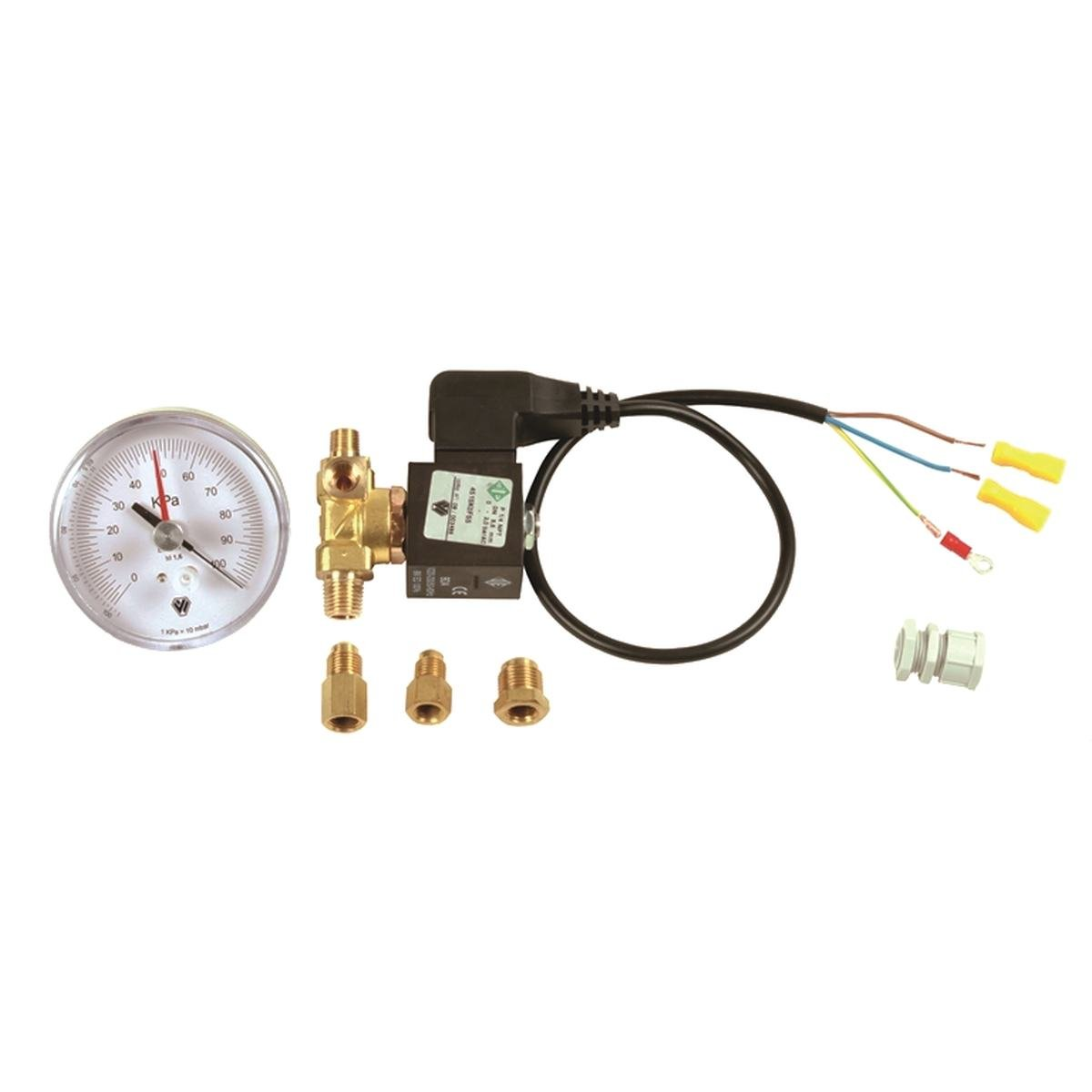 Magnetisk spole och vakuummätare till DIP402
