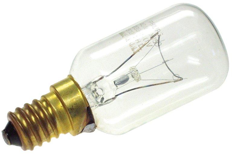 Ugnslampa kort rör 40W 240V E14 värmetålig 300º