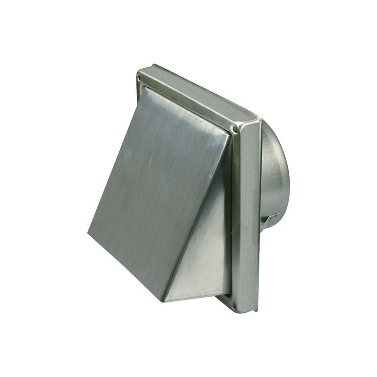 Klapventil Ø125 mm. rustfri stål