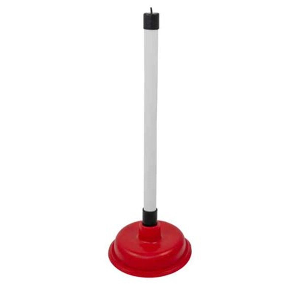 Gummisuger med skaft  115mm til toalett - Target