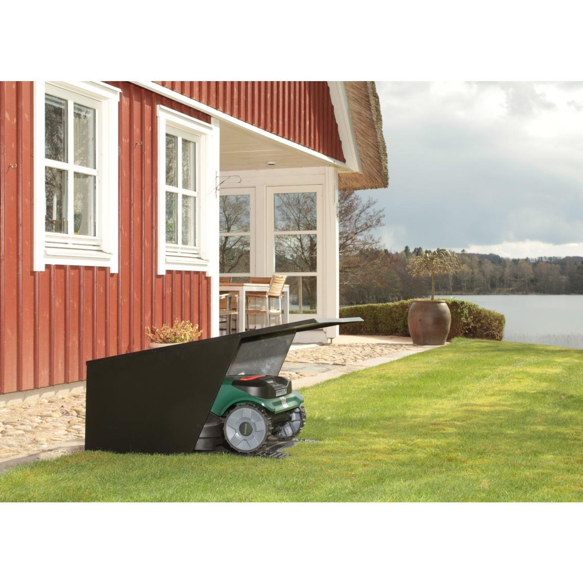 Hus för robotgräsklippare