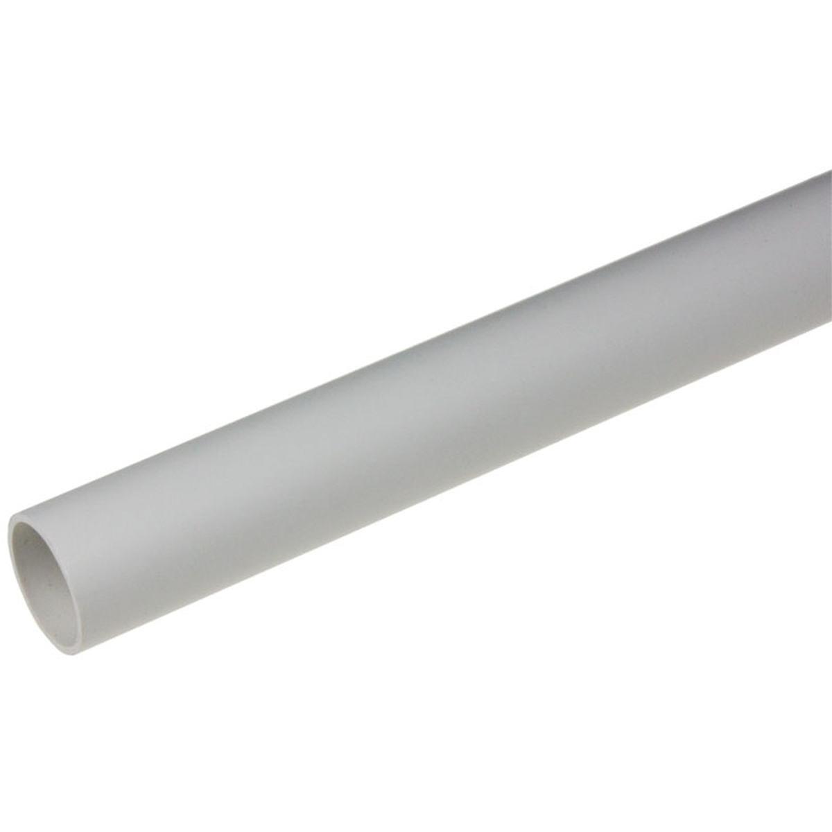 Drænrør Ø20 mm - længde = 1 meter