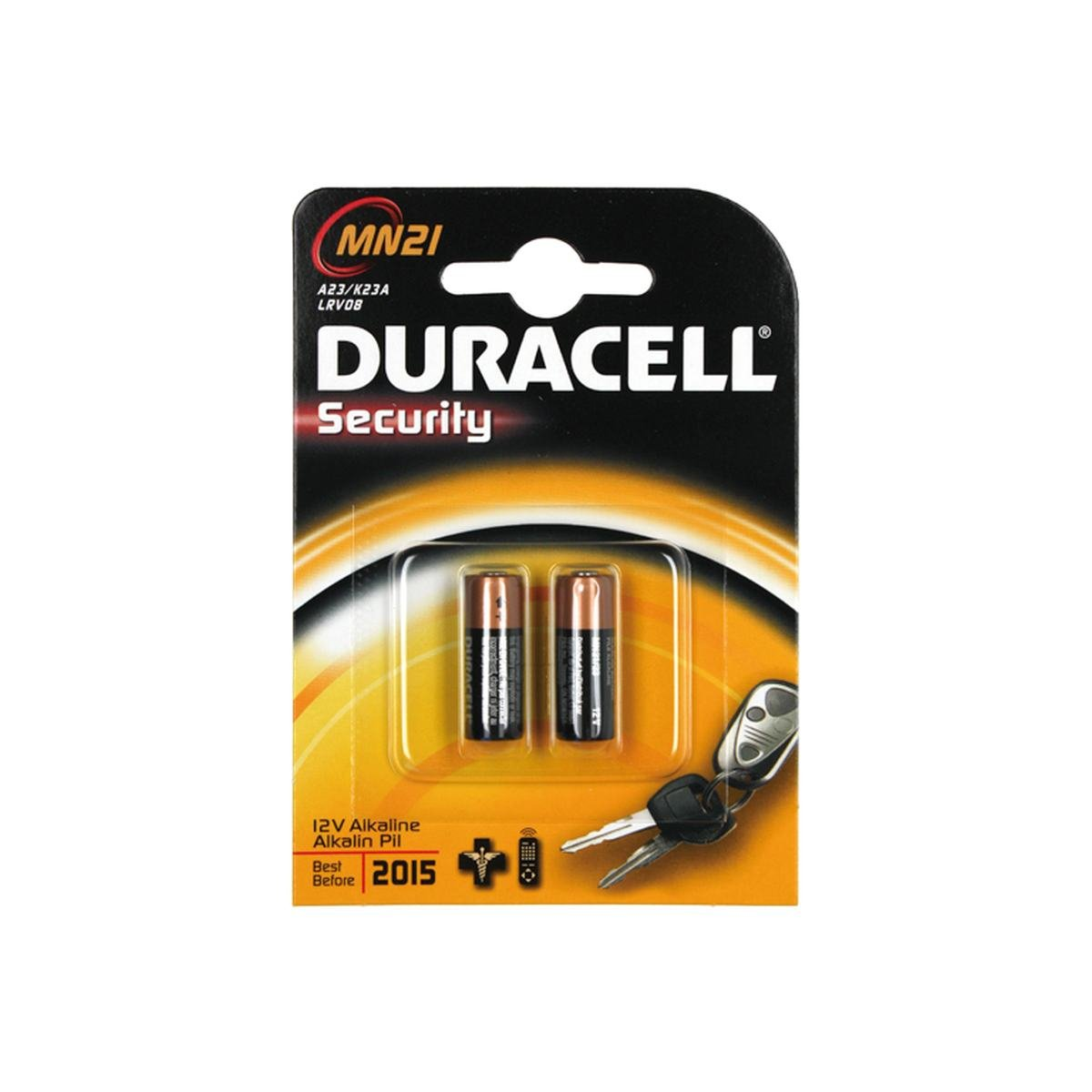 Batteri MN21 / 23AE 12V Alkaline 2 stk. pakke