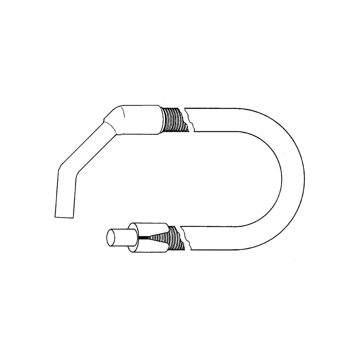 Støvsugerslange komplett