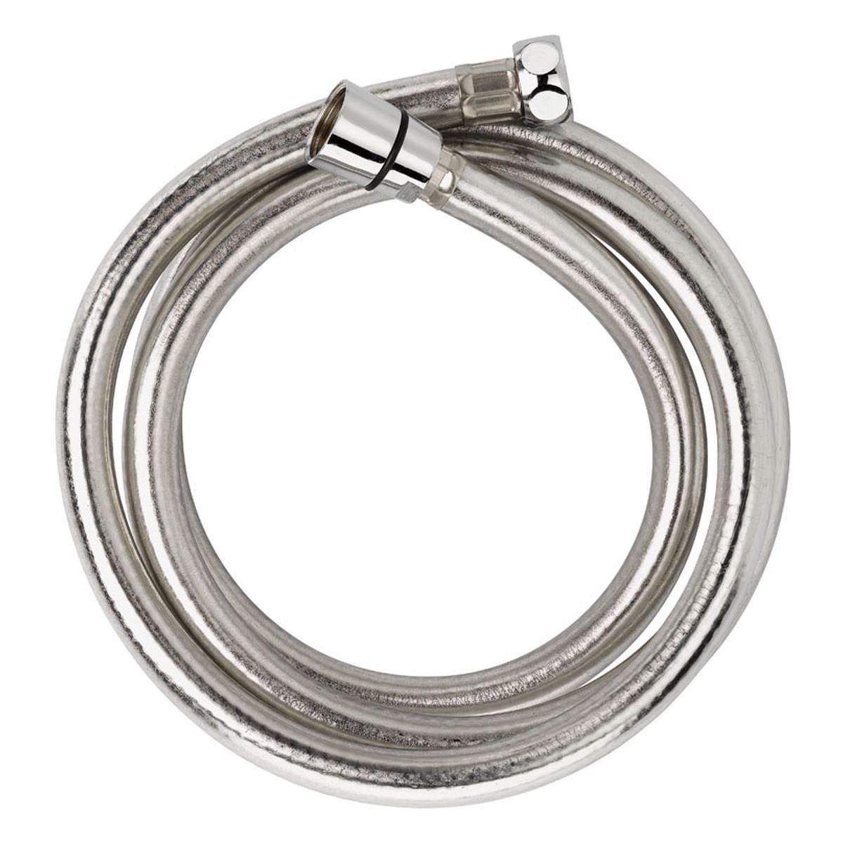 """Bruseslange sølv 1500 mm ½"""" x ½"""" . Target Flexi Lu"""