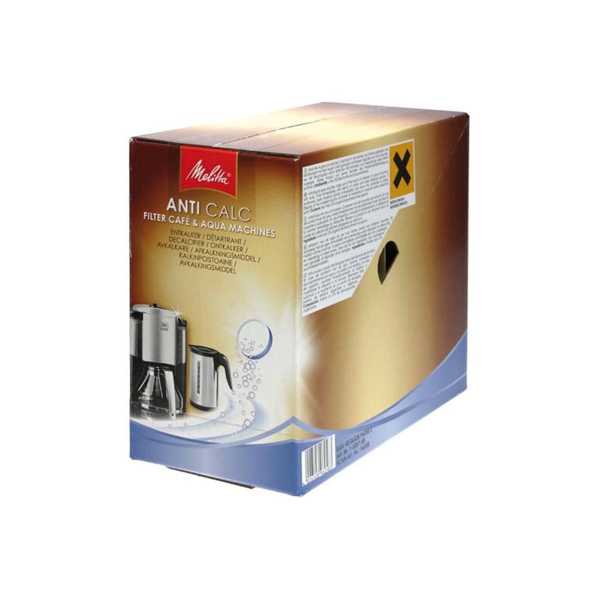 Afkalkningstabs Anti Calc 12 x 4 stk. filterkaffem