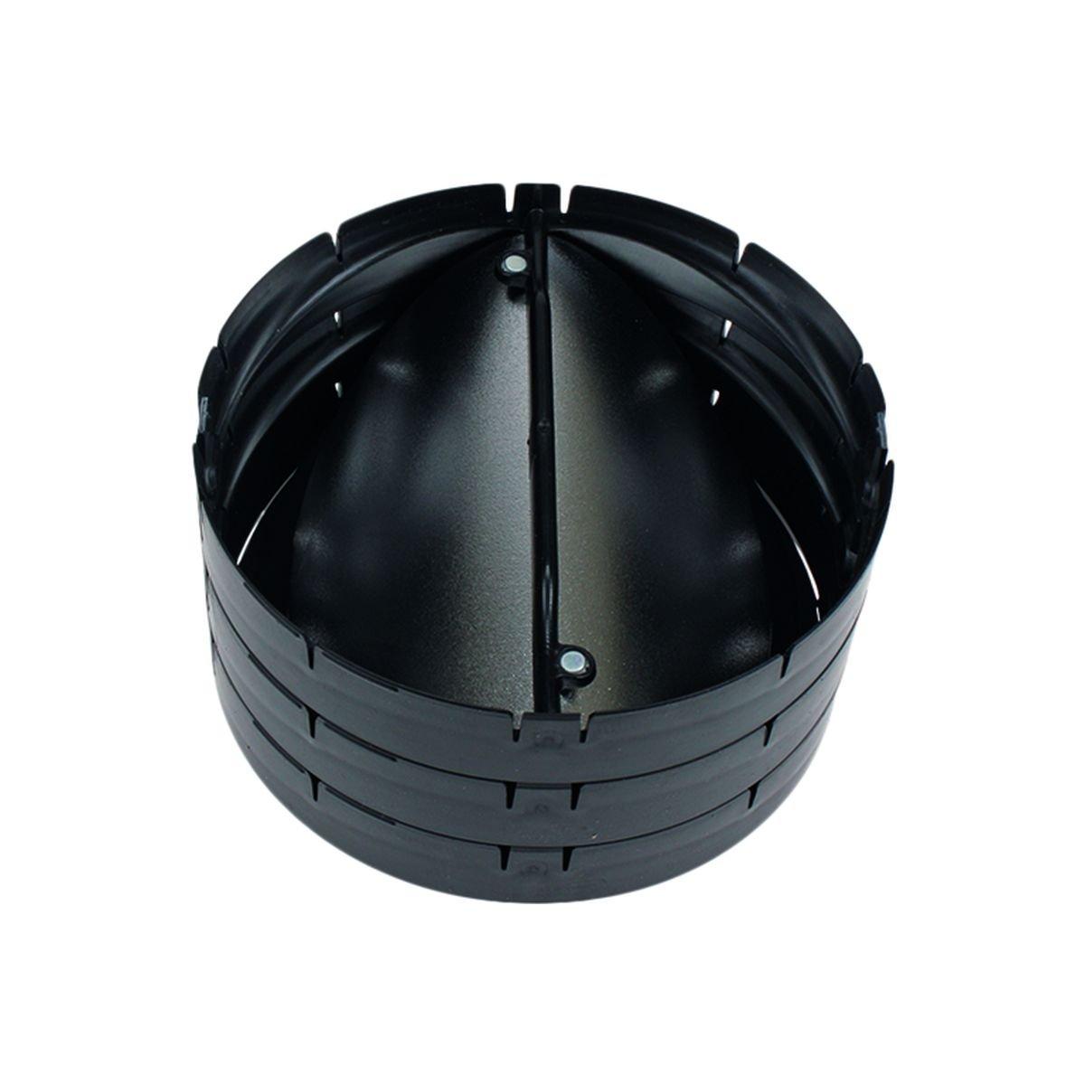 Thermobox returklap ø150mm vertikal
