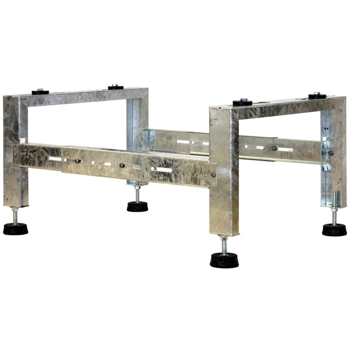 Monteringsstativ galvaniserad inkl. vibrationsdämp