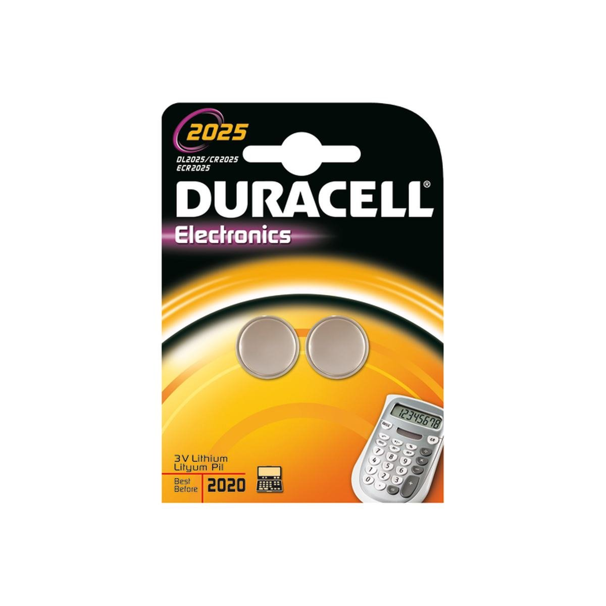 Betteri CR2025 2 st. pack - Duracell