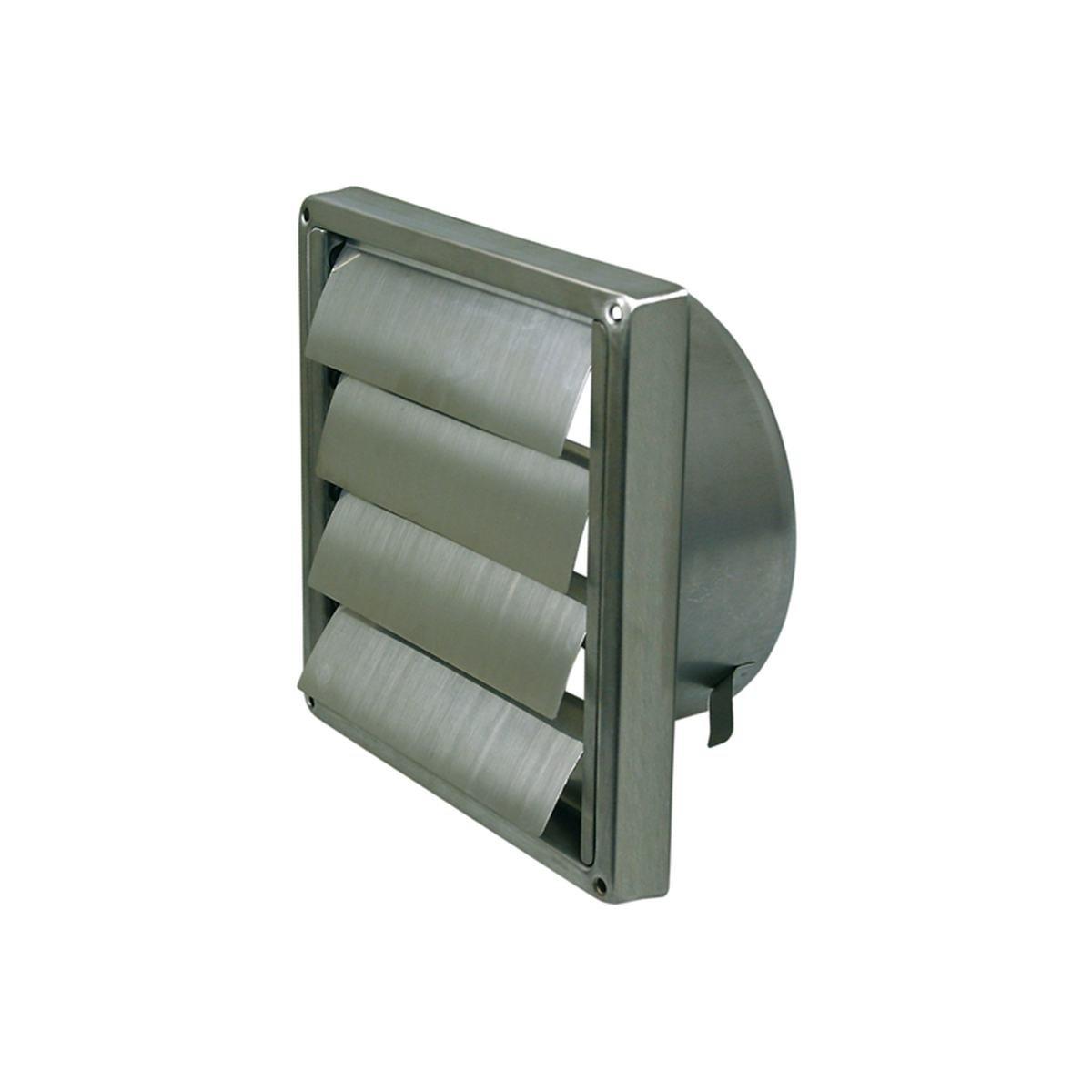 Lamelventil Ø100 mm. rustfritt stål