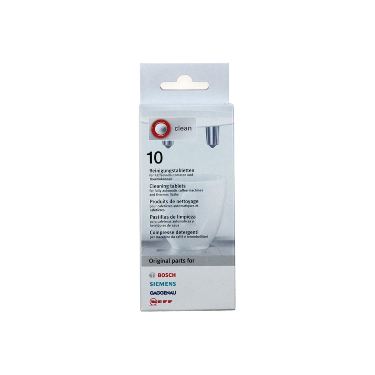 Rengjøringstabletter 10 stk. á 2,2 gram - Bosch Si